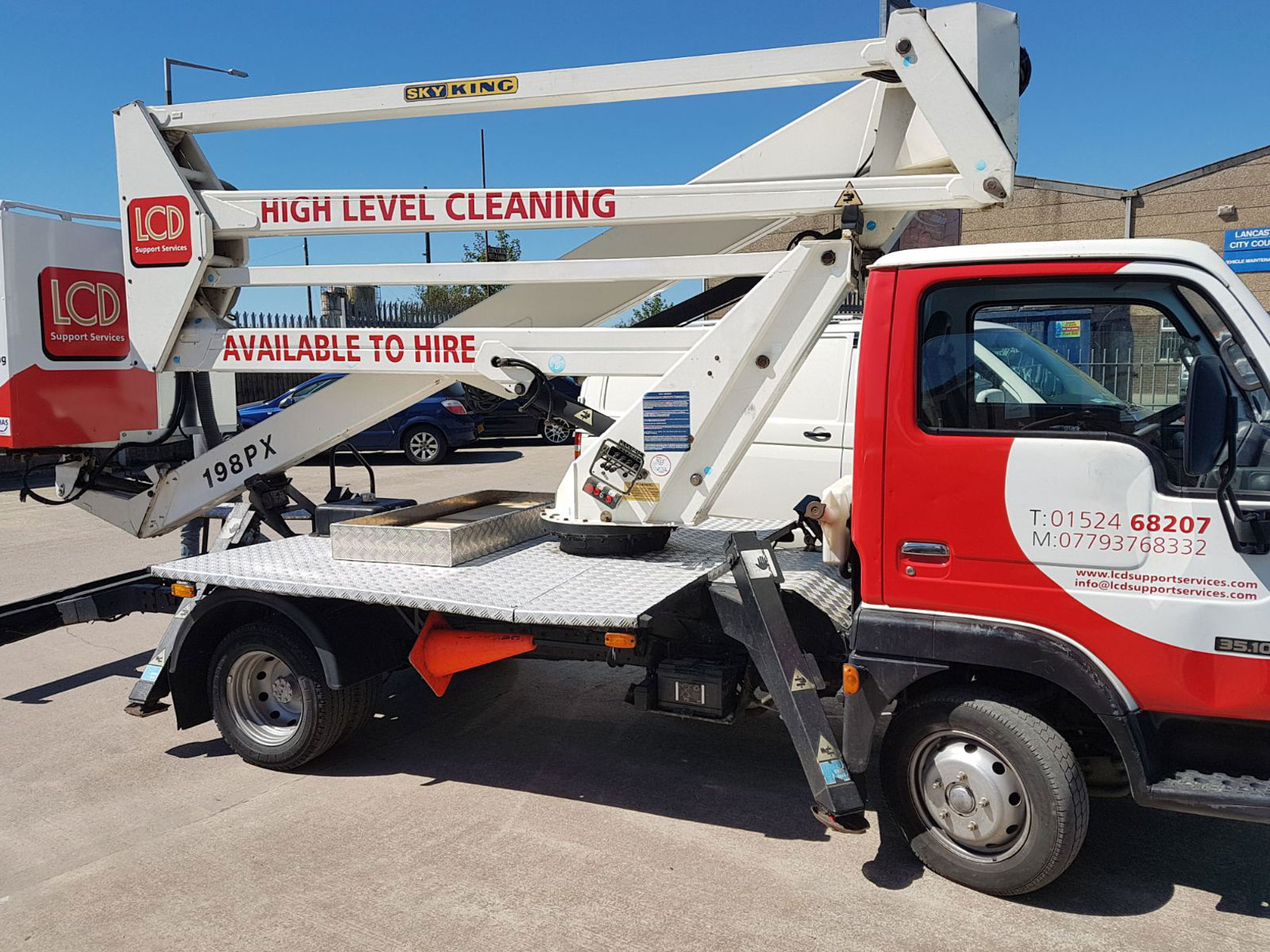Cherry Picker Hire Lancaster High Reach Cleaning